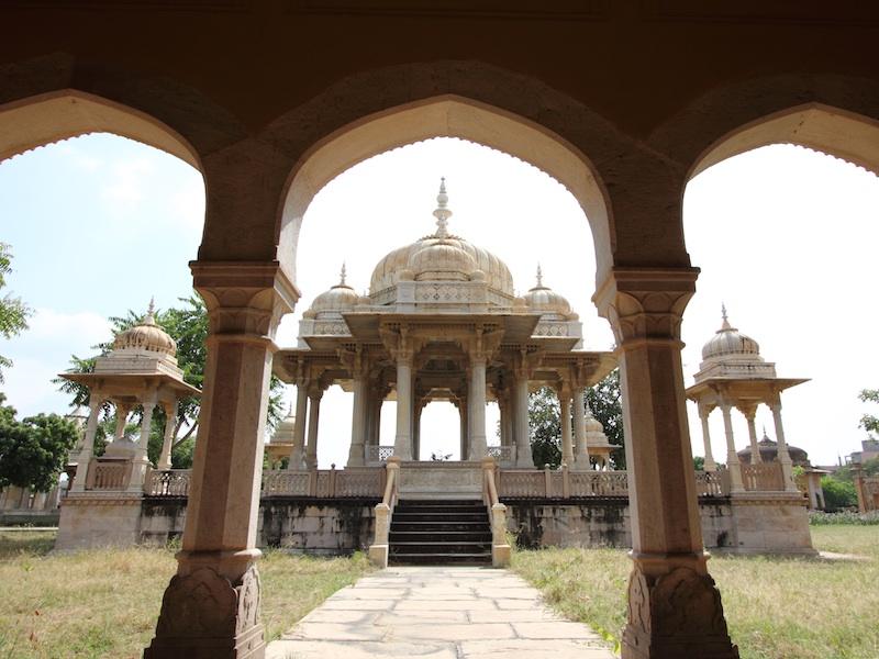 Cenotaphs of Jaipur Maharanis