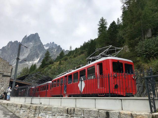 Zahnradbahn Chemin de fer du Montenvers