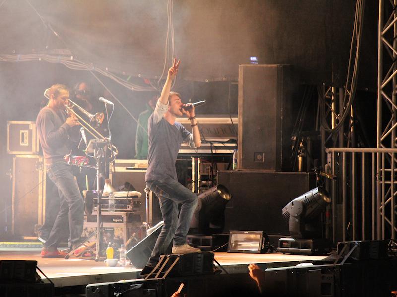 Clueso beim Konzert in Dortmund