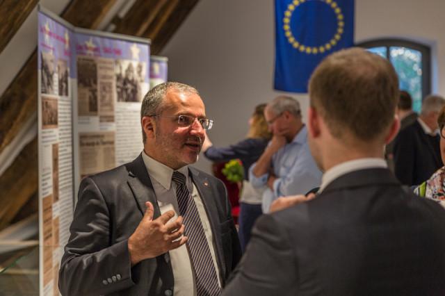 Bürgermeister von Nevers Denis Thuriot