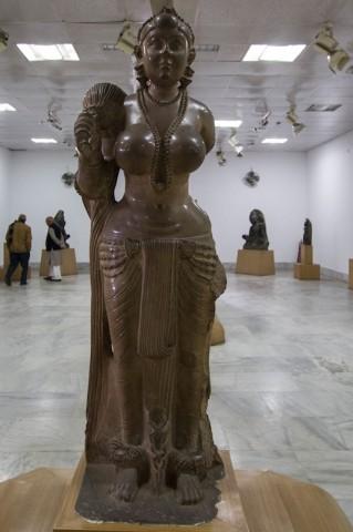 Didarganj Yakshi (Chauri Bearer), 3. Jh. v. Chr.