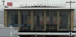 Glasbildfassade des Dortmunder Hauptbahnhof