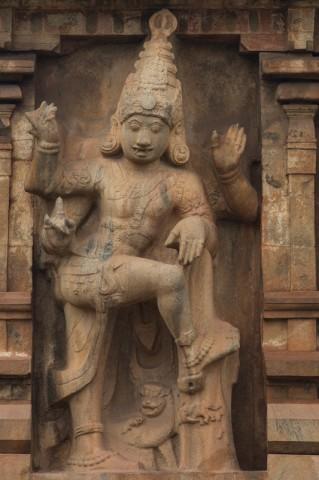 Dwarapalaka (5,4 m hoch) der zweiten Gopura
