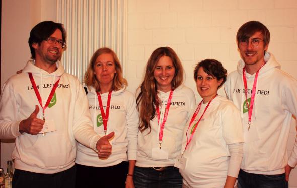 Team des eBookCamps 2012