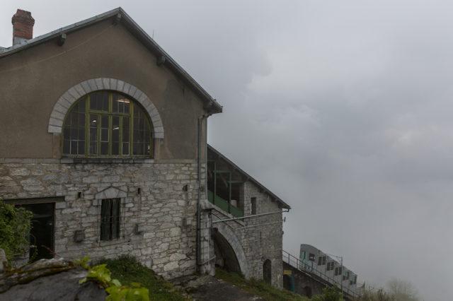 Bergstation der Funiculaire du Pic du Jer