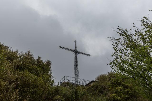 Gipfelkreuz auf dem Pic du Jer