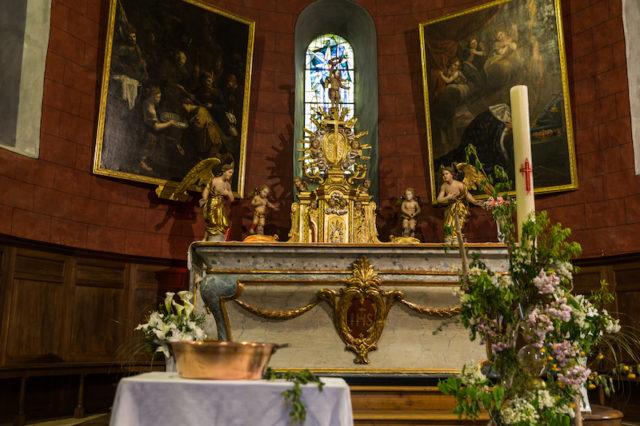 Altar der Eglise des Templiers