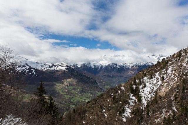 Blick in Richtung Luz-Saint-Sauveur