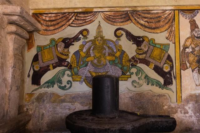 Gajalakshmi Malerei (Maratta Periode)
