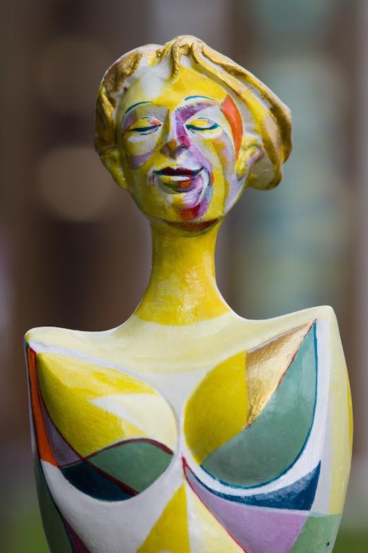 Keramikskulptur von Kachelkunst Friedrich