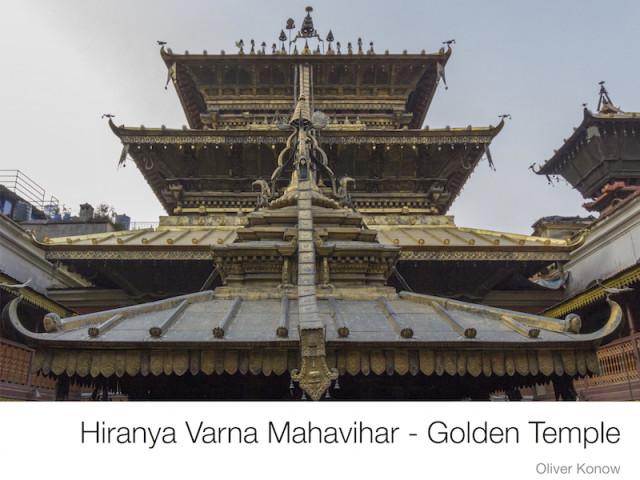 Der Bildband 'Hiranya Varna Mahavihar – Golden Temple'
