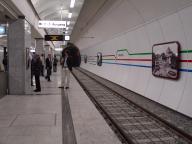 Haltestelle Westentor - Bahnsteig