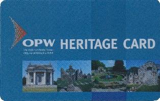 Heritage Card des OPW