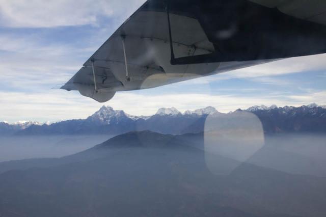 Himalaya in Sicht