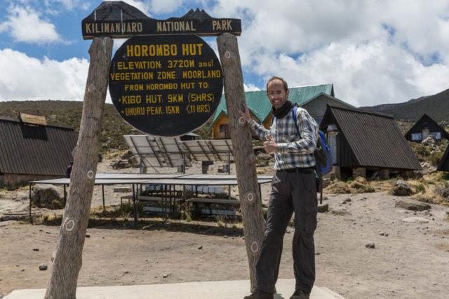 Horombo Hut - 3.720 m