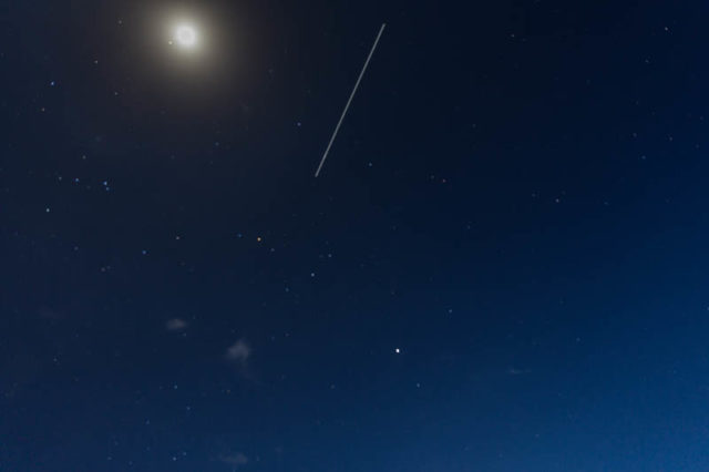 ISS Überflug am Lake Natron