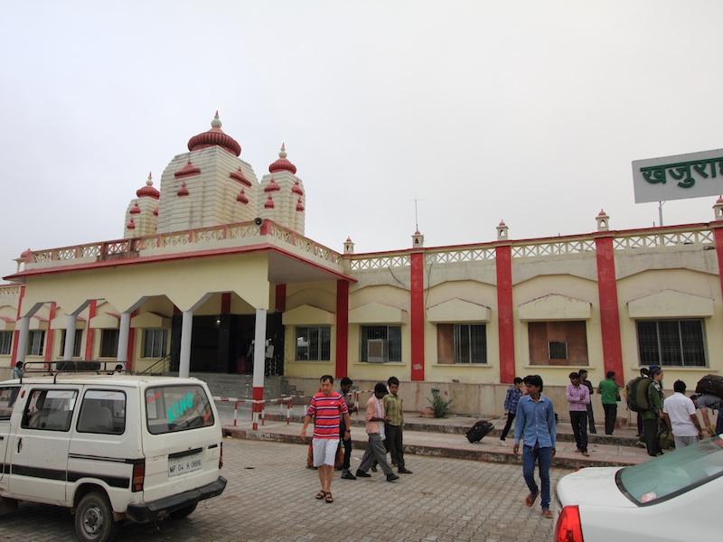 Khujaraho Railwaystation