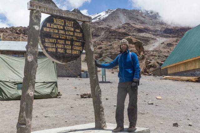 Kibo Hut - 4.720 m