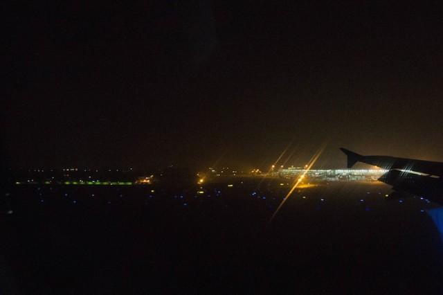 Landung in Kolkata