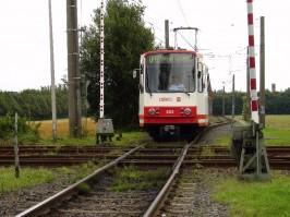 Kreuzung der U47 mit der DB-Strecke 118