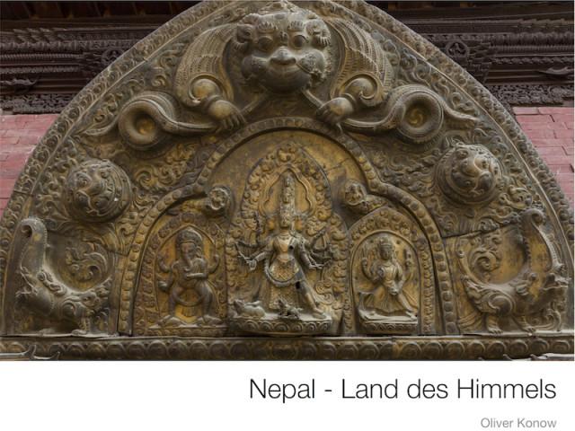 Der Bildband 'Nepal - Land des Himmels'