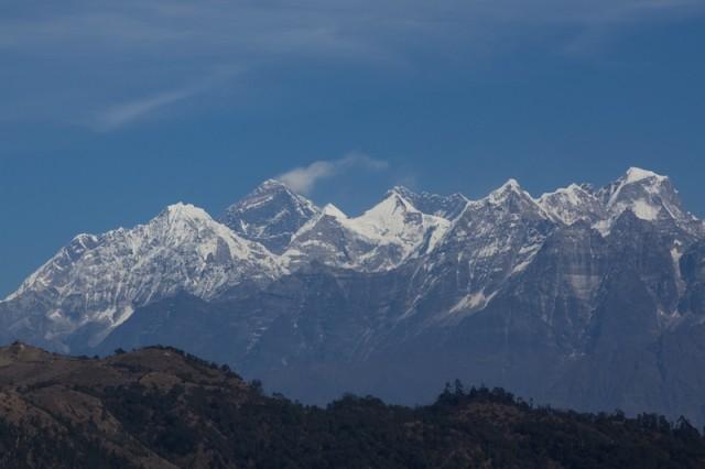 Mein letzter Blick auf den Mt. Everest