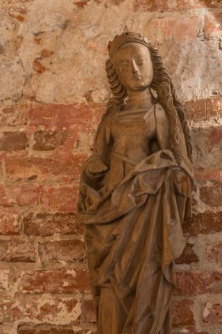 Madonna aus der Kirche Ihlenfeld, 15. Jh.