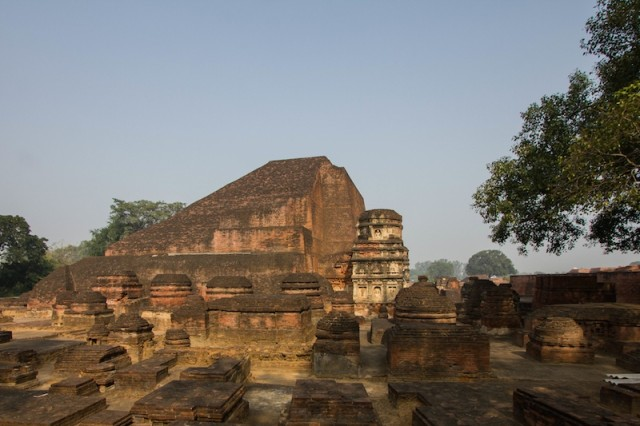 Haupttempel und Stupa (6. Jh. n. Chr.)
