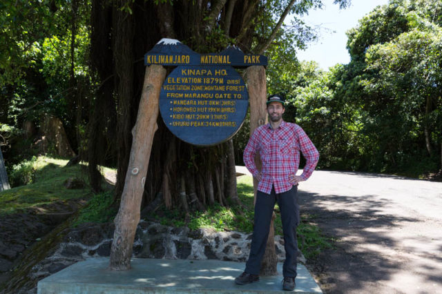 Marangu Gate - 1.879 m