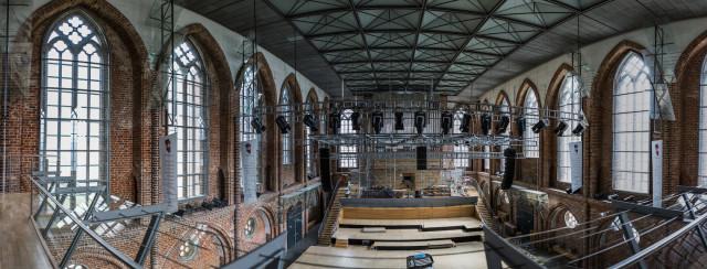 Innenansicht der Konzertkirche