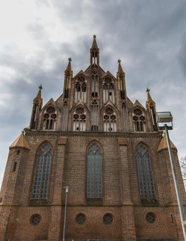 Ostgiebel der Konzertkirche