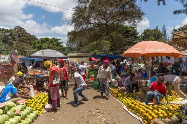Markt in Usa River