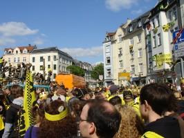 Borsigplatz schwarz-gelb
