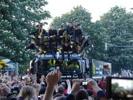 Der Truck mit Dortmunds Helden