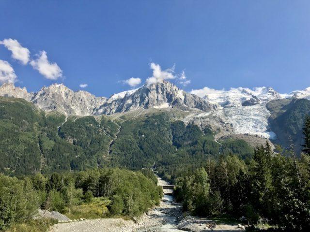 das Mont Blanc Massiv