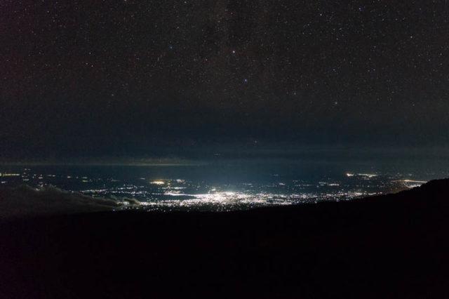 Moshi bei Nacht