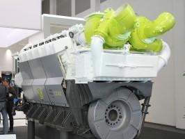 Dieselmotor - geballte Power