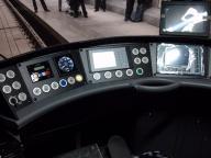 Niederflurbahn NGT8 - der Führerstand
