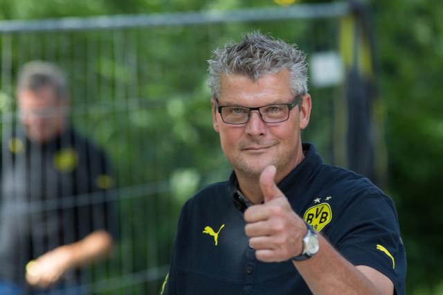 Stadionsprecher Norbert Dickel