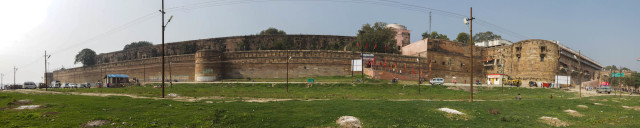 Panorama vom Allahabad Fort (1 MB)