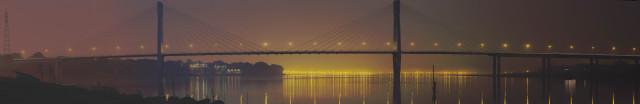 Panorama der New Yamuna Bridge (1,6 MB)