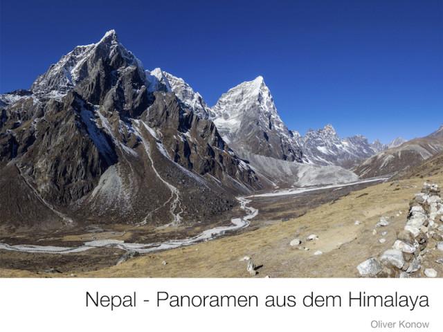Der Bildband 'Nepal – Panoramen aus dem Himalaya'