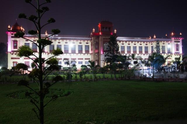 Patna Museum bei Nacht