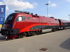 railjet der ÖBB