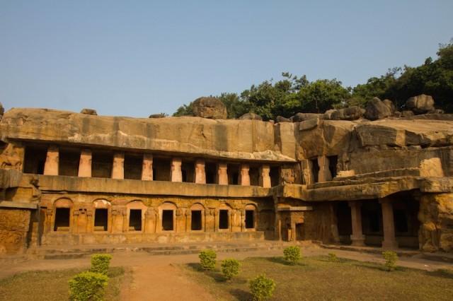 Rānī Gumphā (Cave 1) in Udayagiri