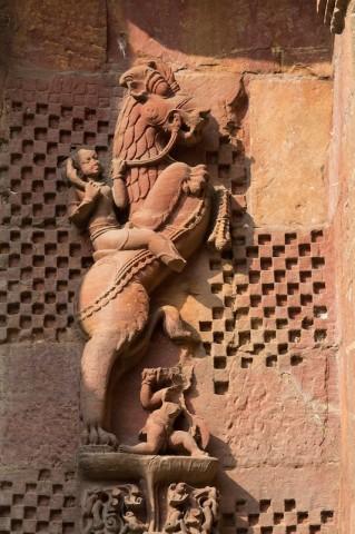 Relief am Rajarani Temple (etwa 11. Jh.)