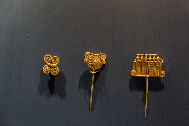 Schatz des Priamos - Kettenglied und Prunknadeln