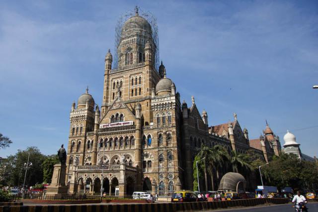 Sitz der Bombay Municipal Corporation (BMC)