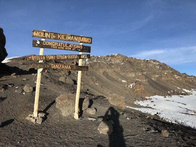 Stella Point - 5.756 m