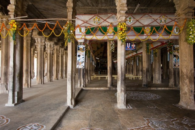 Thousand Pillars Mandapam